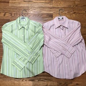 Button down shirts-striped